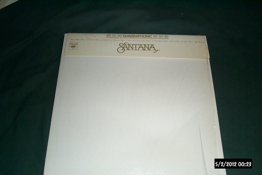 Santana - SQ Quadraphonic welcome lp nm