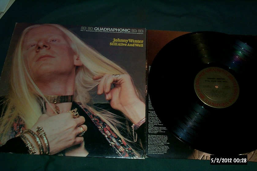 Johnny Winter - SQ Quad still alive & well nm