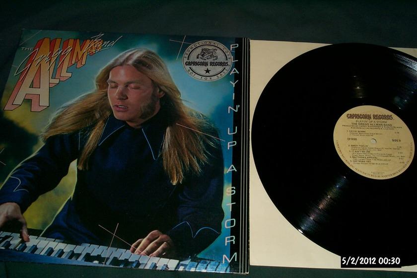 Gregg allman  band - Playin Up A Storm lp nm