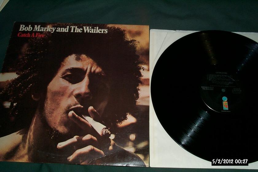 Bob Marley & The Wailers - Catch A Fire Black Island Label LP NM