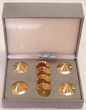 BBC Gold audio isolation metal cones,new