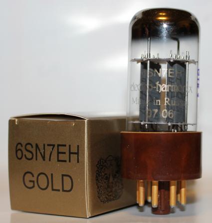 Electro Harmonix 6SN7 Gold Pin tubes brand new