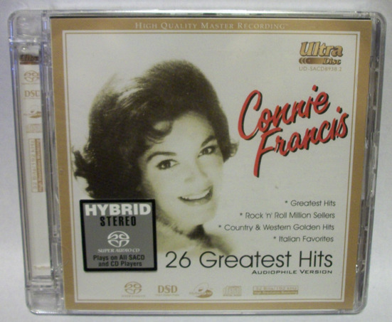 Connie Francis - 26 - Greatest Hits top music sacd