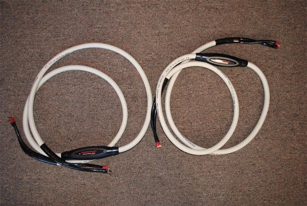 Transparent MWP8 MM1 Technology Speaker Cables