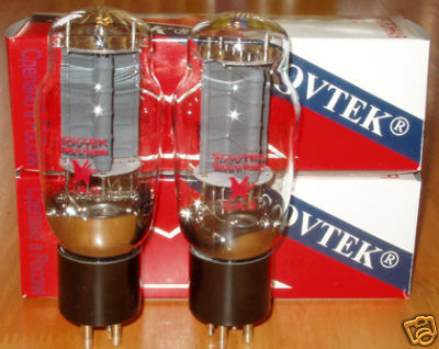 Sovtek 2A3 tubes, brand new matched pairs !