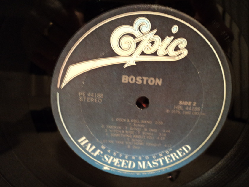 Boston (Half Speed Mastered) - Self-titled More than a Feeling rare EPIC