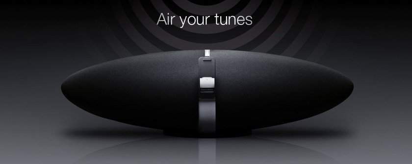 Bowers & Wilkins Zeppelin Air iPod player