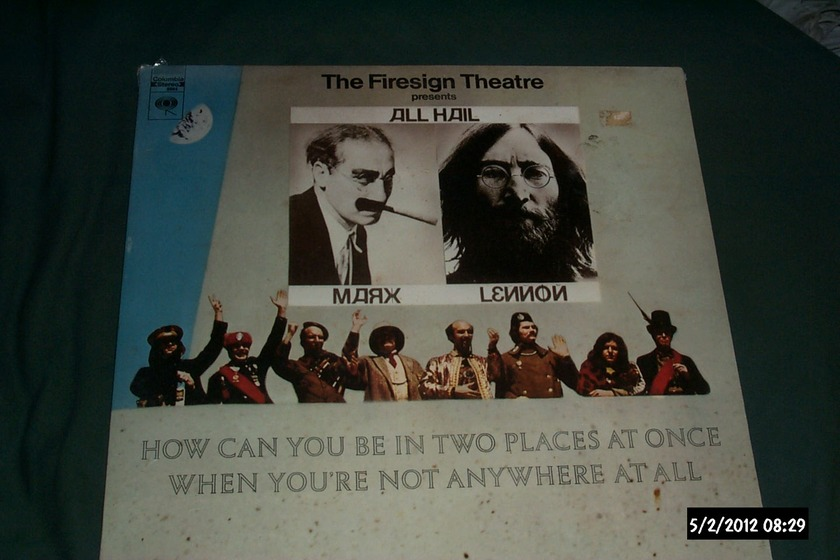 Firesign Theatre - Sealed LP how can you be in 2 places