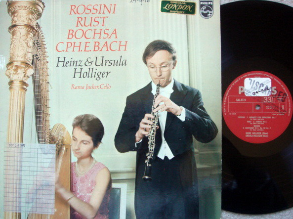 Philips / HEINZ HOLLIGER, - Rossini Andante con Variazioni in F, NM, UK Press!