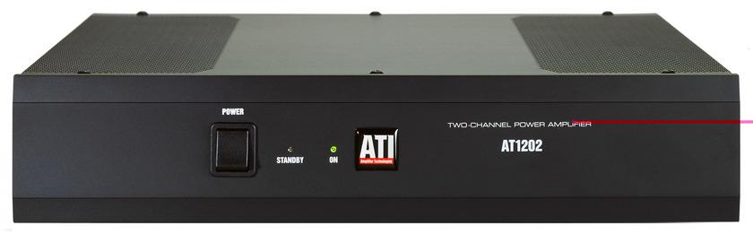 ATI AT1202 2 x 120w Power Amplifier