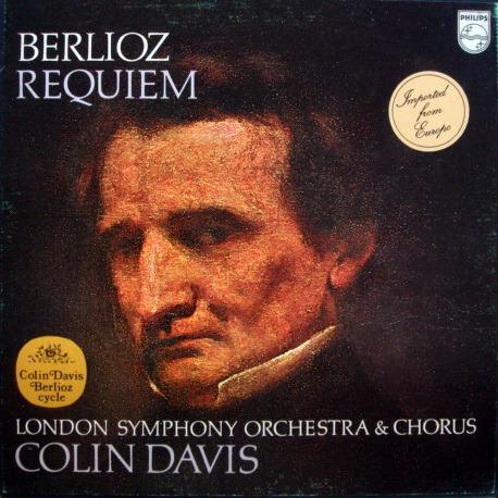 Philips / DAVIS, - Berlioz Requiem, NM, 2LP Box Set!
