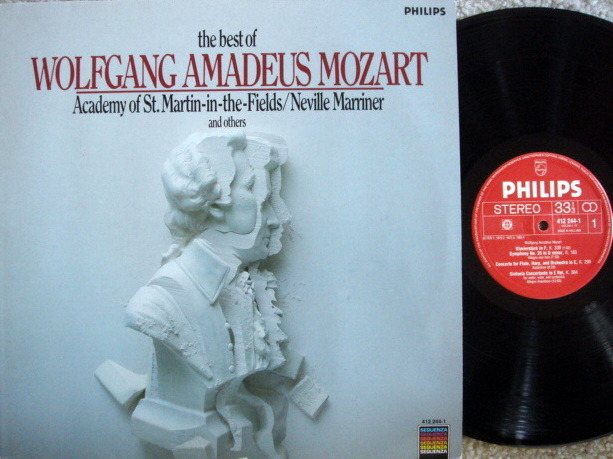 Philips / MARRINER, - The Best of Mozart, NM!