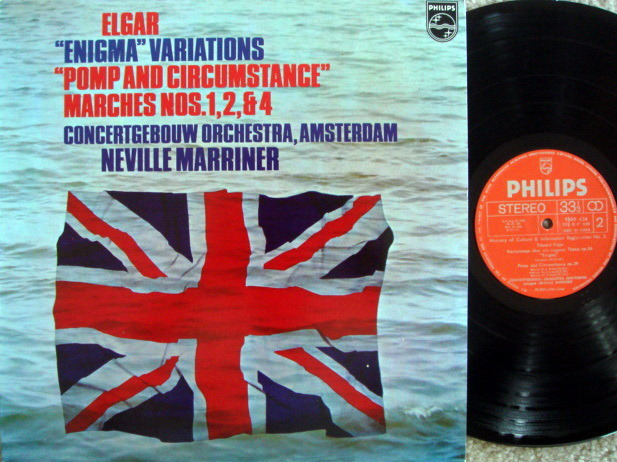 Philips / MARRINER, - Elgar Enigma Variations, NM!
