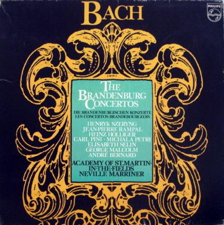 Philips / MARRINER-SZERYNG, - Bach 6 Brandenburg Concertos, NM, 2LP Box Set!