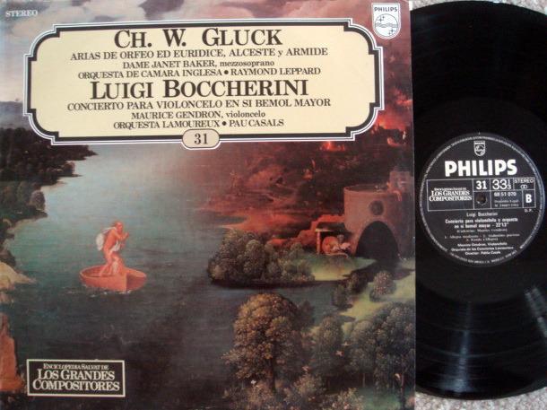 Philips / CASALS-GENDRON, - Boccherini Cello Concerto, NM!