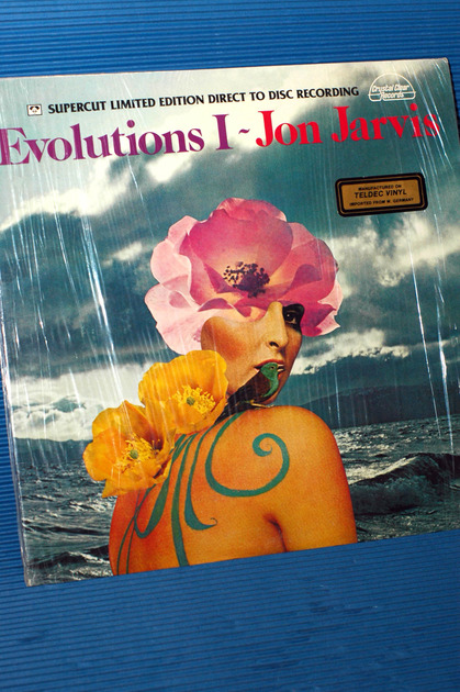 """JON JARVIS -  - """"Evolutions I"""" -  Crystal Clear D-D Limited Edition 1978 Sealed"""