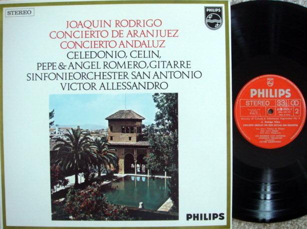 Philips / ROMEROS-ALLESSANDRO, - Rodrigo Concerto de Aranjuez, NM!