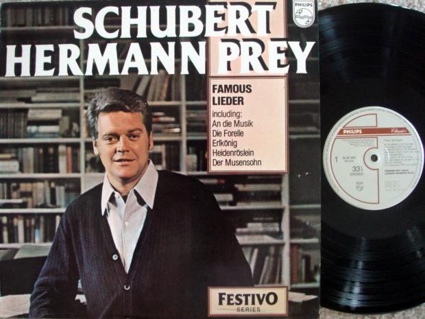 Philips / HERMANN PREY, - Schubert Famous Songs, NM!