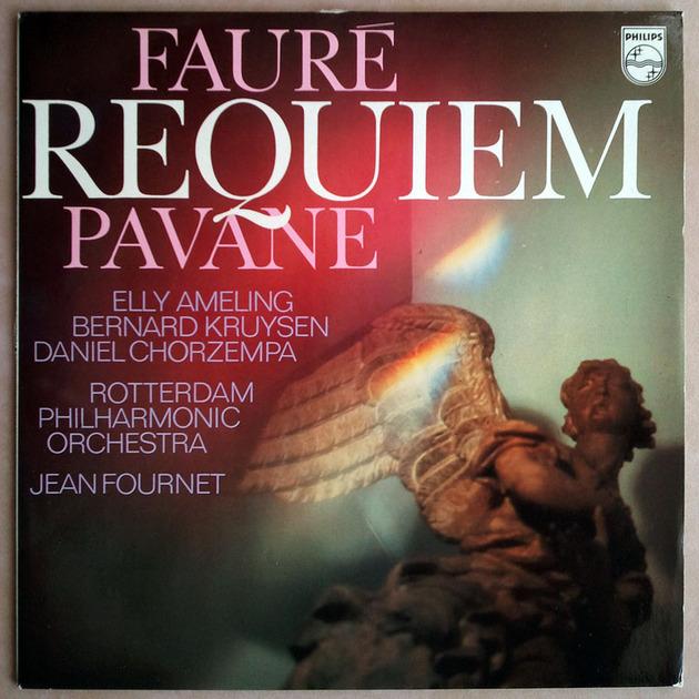 PHILIPS   FOURNET/FAURE - Requiem & Pavane / NM