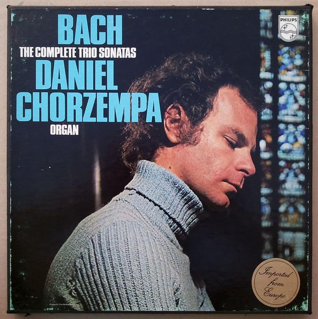 PHILIPS   CHORZEMPA/BACH - The Complete Trio Sonatas / 2-LP / NM