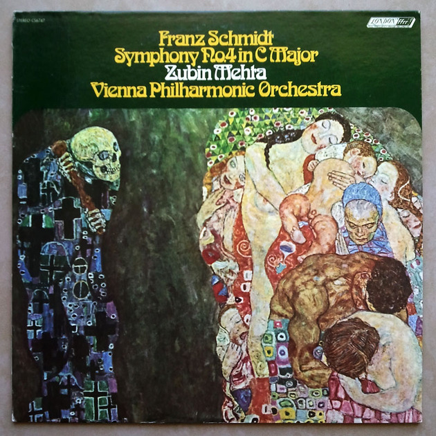 London ffrr | MEHTA/FRANZ SCHMIDT - Symphony No. 4 / NM