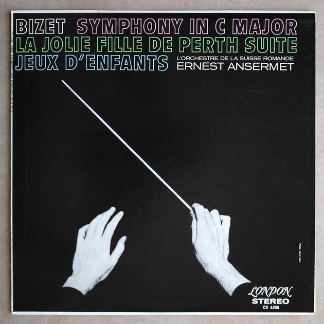 London ffrr | ANSERMET/BIZET - Symphony in C, La jolie fille de Perth, Jeux d'enfants / NM