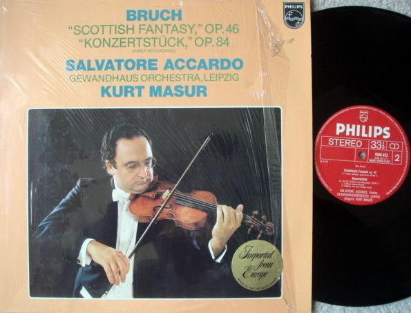 Philips / ACCARDO-MASUR, - Bruch Scottisch Fantasy, NM!