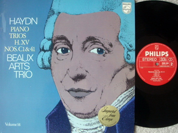 Philips / BEAUX ARTS TRIO, - Haydn Piano Trios No.C1 & 41, NM!