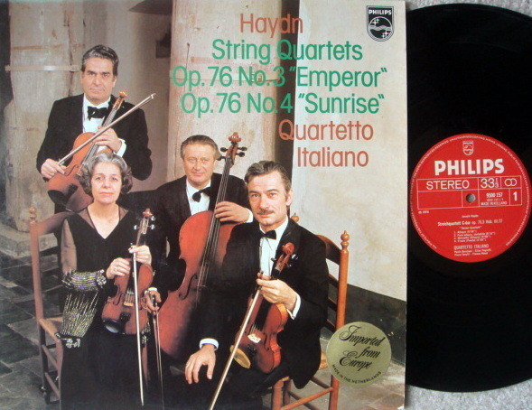 Philips / QUARTETTO ITALIANO, - Haydn String Quartets No.3 & 4, NM!