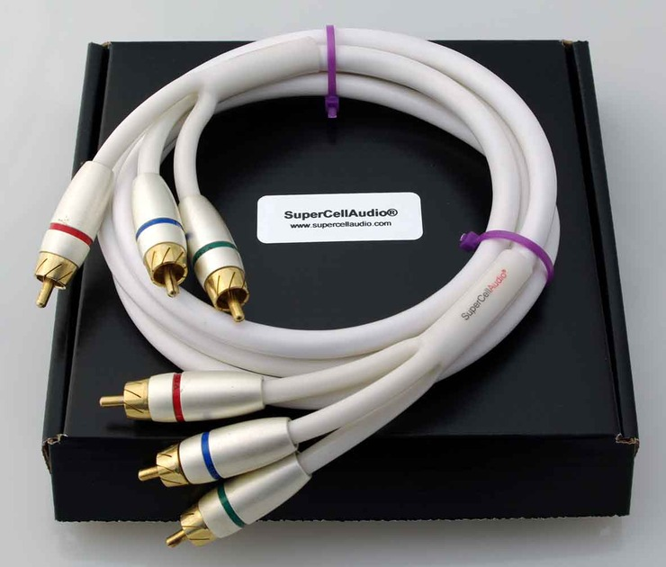 SuperCellAudio ® VS15 Component Cable 5 ft (1.5m)