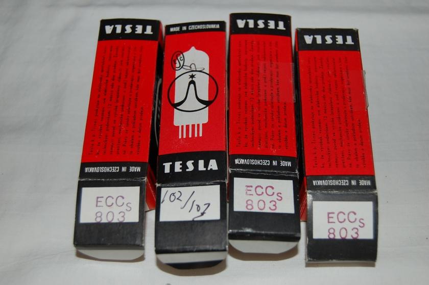 Tesla  ECC803s matched quad No reserve