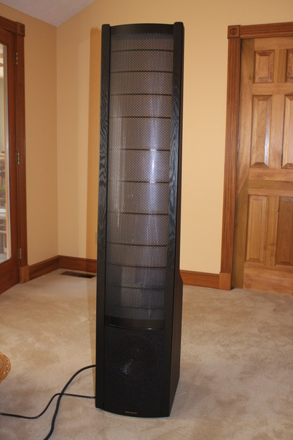 Martin Logan SL 3 Full Range Electrostats with spikes. Excellent Condition!