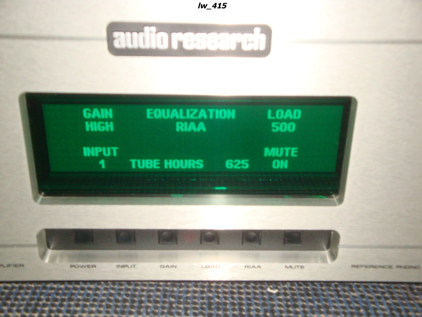 Audio Research Reference Phono 2 like new condition - 8 months old  - 240 volt