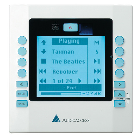 Audioaccess  KP21 Amplified LCD Display Keypad (White)
