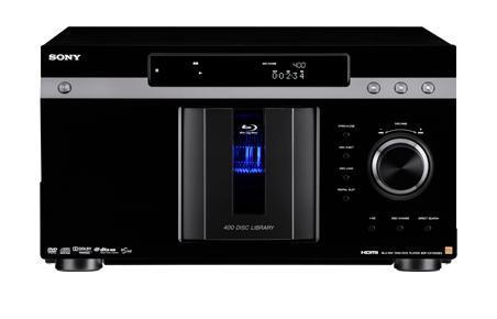 Sony BDP-CX7000ES 400 Dsic Blu-Ray/DVD/CD ES Mega Changer (Black)