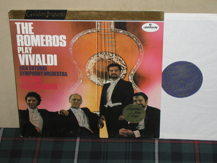 The Romeros/Alessandro - Vivaldi Mercury Golden Imports