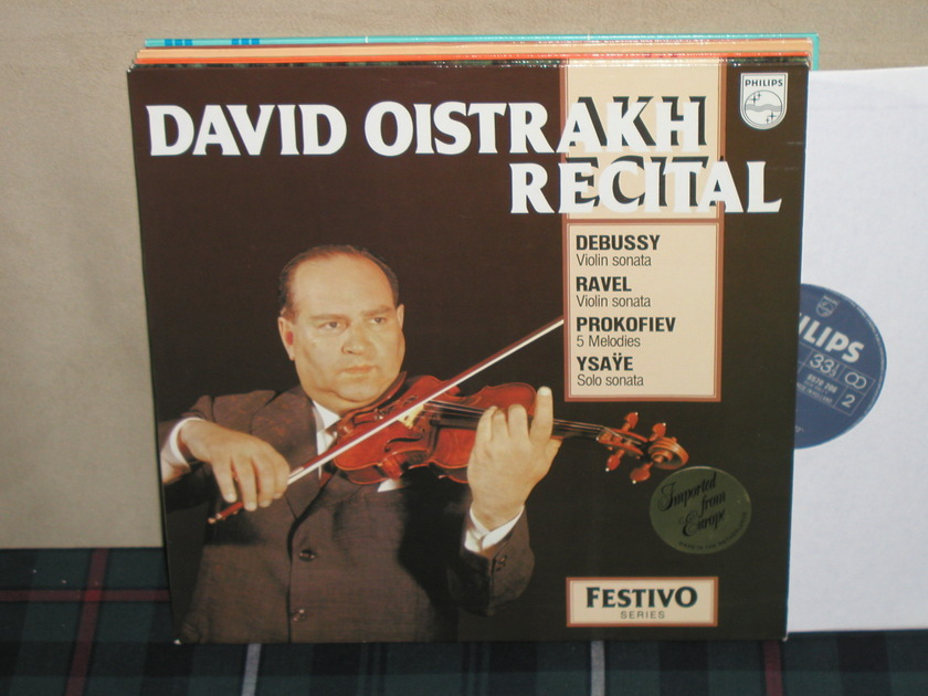 David Oistrakh     Debussy/ - Ravel/Prokofiev/Ysaye Philips Import LP 6570