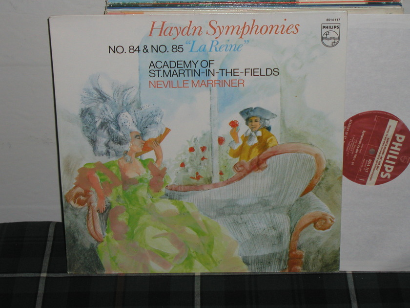 Marriner/Aostmitf - Haydn 84/85 philips import pressing 6500