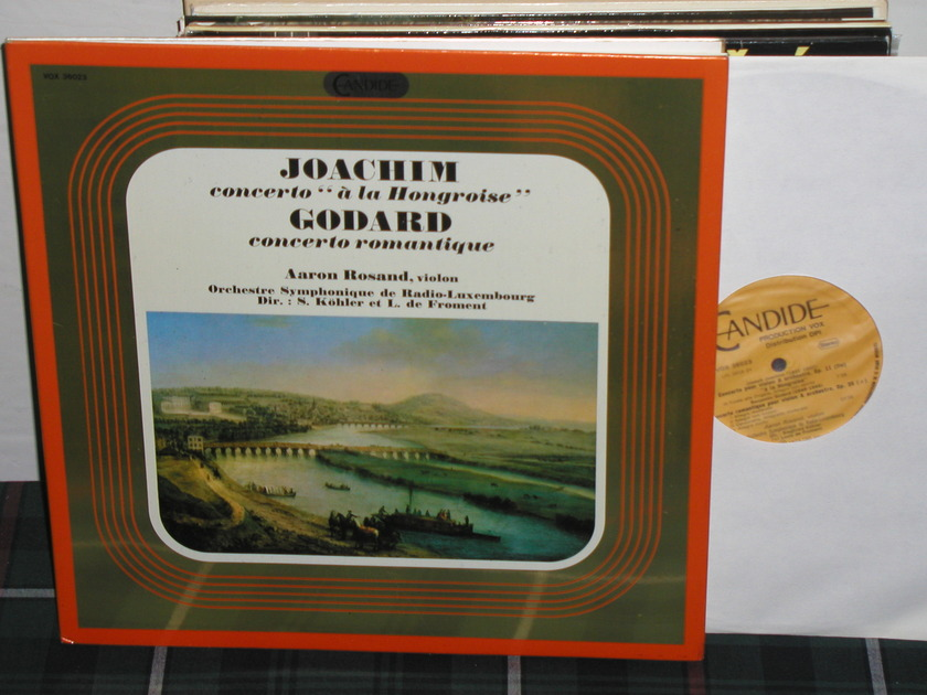 Rosand/Kohler - Joachum/Godard Candide/Holland press
