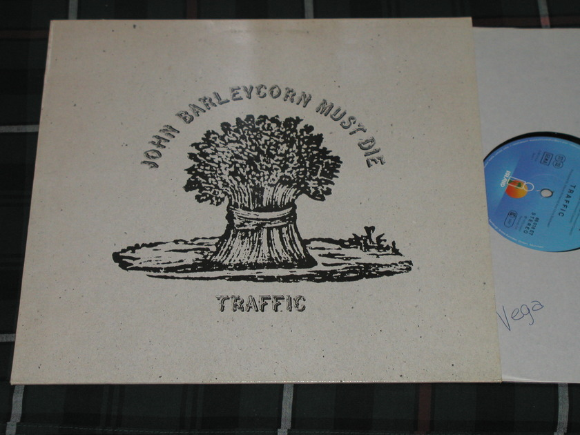 Traffic - John Barleycorn Must Die UK Import from 70's Island ILPS 9116
