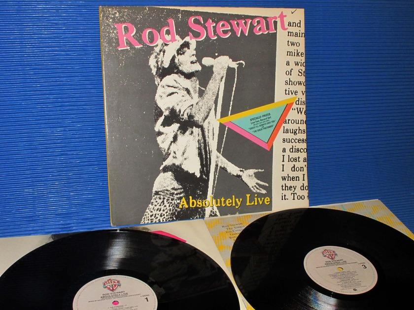 """ROD STEWART -  - """"Absolutely Live"""" -  Warner Bros. 1982 2lp's"""