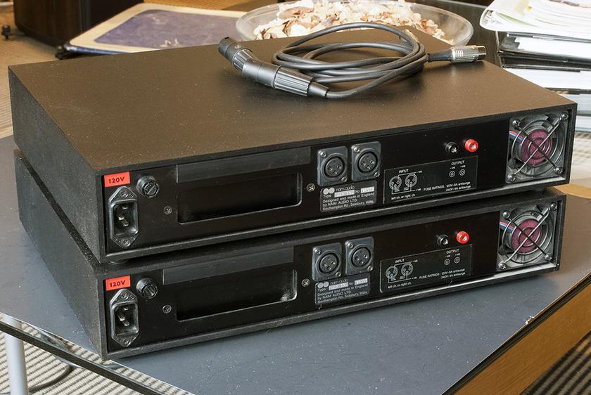 Naim NAP135  Monoblock Amplifiers (pair); 75w x 1.