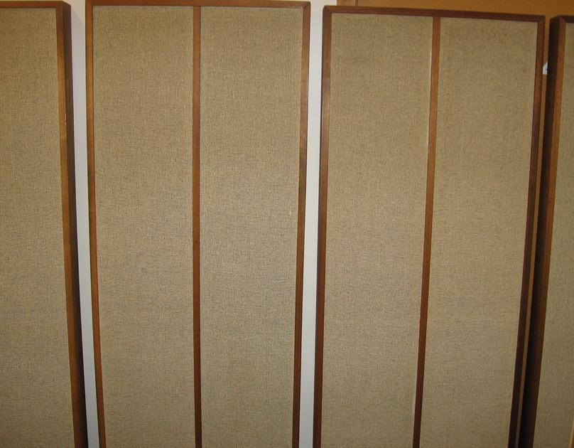 KLH 9 Electrstatic Speakers Model 9 full range electrostats
