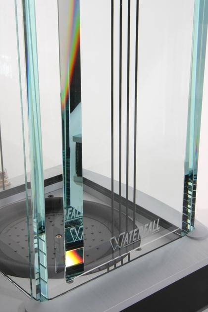 Waterfall Niagra New Diamond Glass speakers