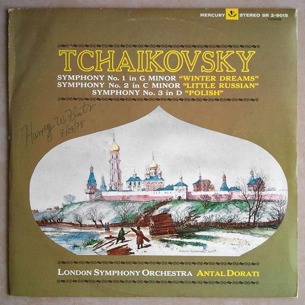 MERCURY | DORATI/TCHAIKOVSKY - Symphonies Nos. 1, 2, 3 / 2-LP / NM