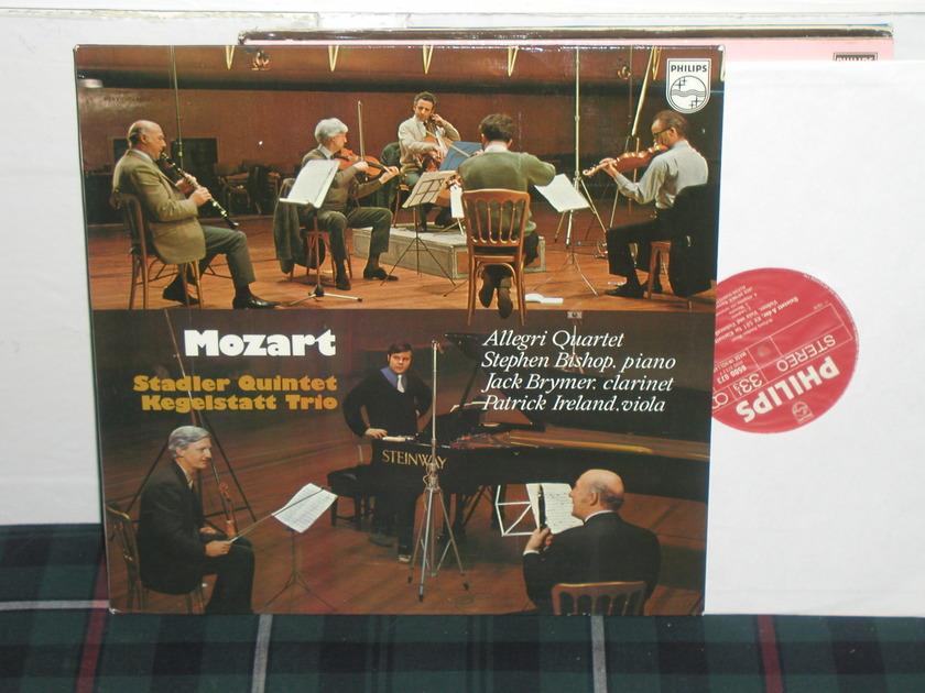 Allegri Quartet - Kegelstatt Trio Philips Import pressing 6500