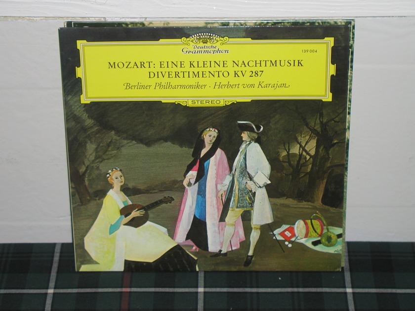 Von Karajan/BPO - Mozart Eine/Diverti DG German import  press
