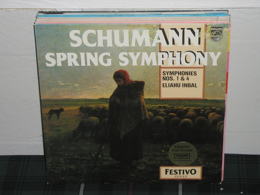 Inbal/NPO - Schumann Spring Philips Import pressing 6500