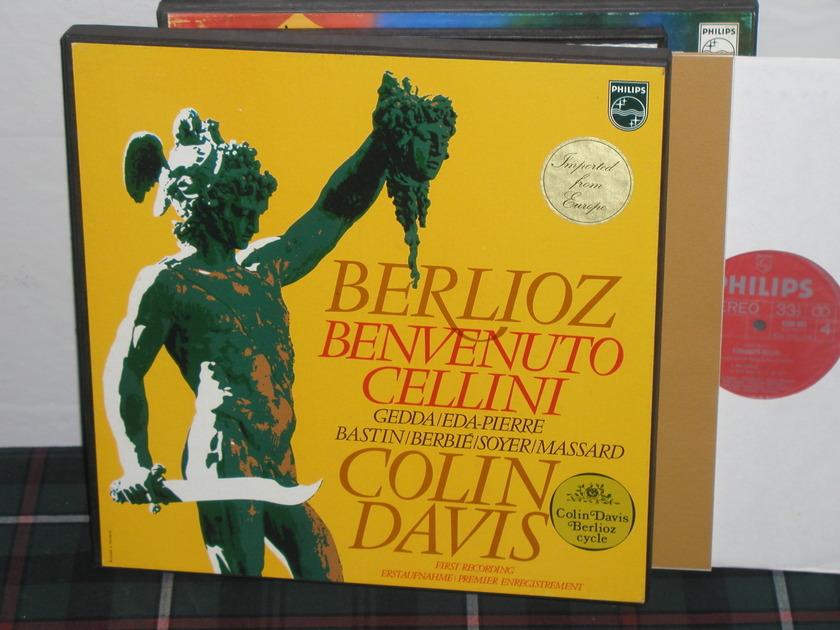 Davis/ROHO Covent Garden - Berlioz Benvenuto Philips Import pressing 6500