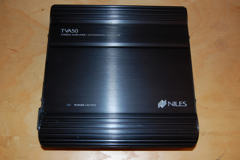 """Niles TVA-50 Stereo amplifier for """"local"""" sources in a multi-room system"""
